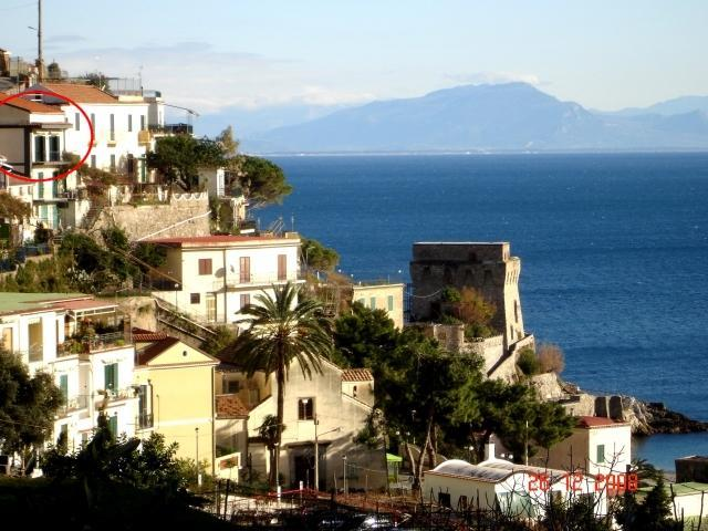External view - Casa Rosalia. Beautiful holiday home with sea view - Erchie - rentals