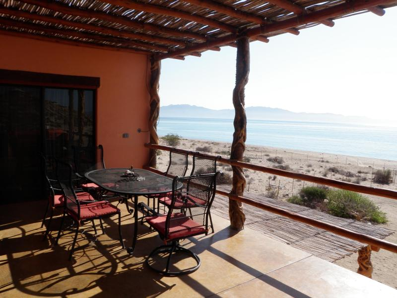 Upstairs patio - La Ventana/El Sargento beach house - La Ventana - rentals