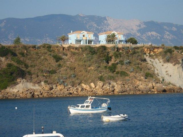 Villas overlooking Marina - Ionian Blue Luxury Villas - Svoronata - rentals