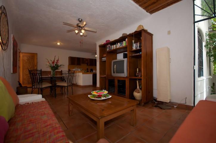 This living area has a lot of open space. - CASA DEL SOL CAMPANILLA comfortable and affordable - Playa del Carmen - rentals