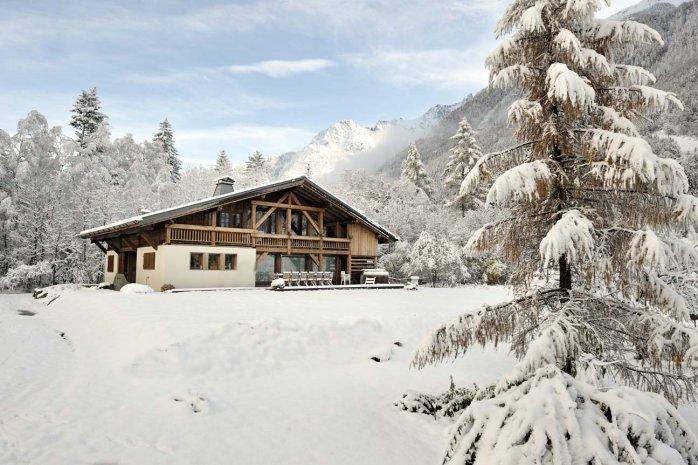 Winter exterior - Chalet Valhalla - Chamonix - rentals