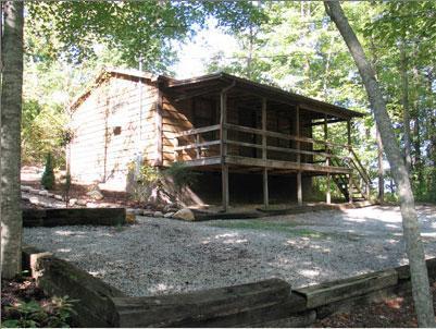 Front of Cabin - ROMANTIC 1 Bedroom Honeymoon Cabin WIFI - Sevierville - rentals