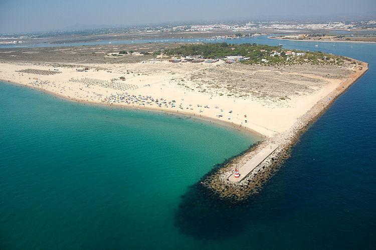 Beaches on nearby Tavira Island - Villa Boa Vista, Tavira town. Sleeps 8/Pool/Aircon - Tavira - rentals