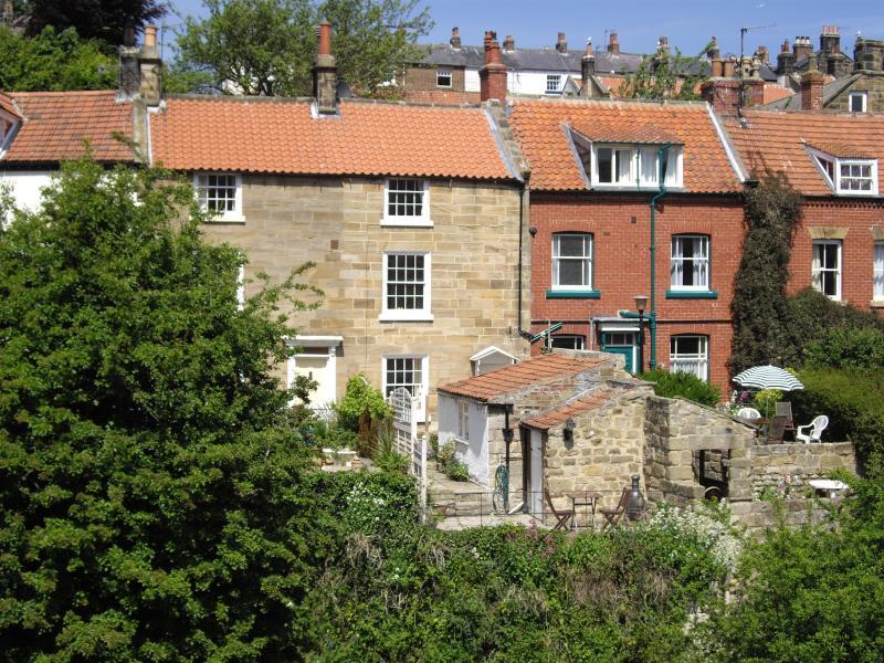 Holmedale from the hillside - Holmedale Cottage in the heart of Robin Hoods Bay - Robin Hoods Bay - rentals