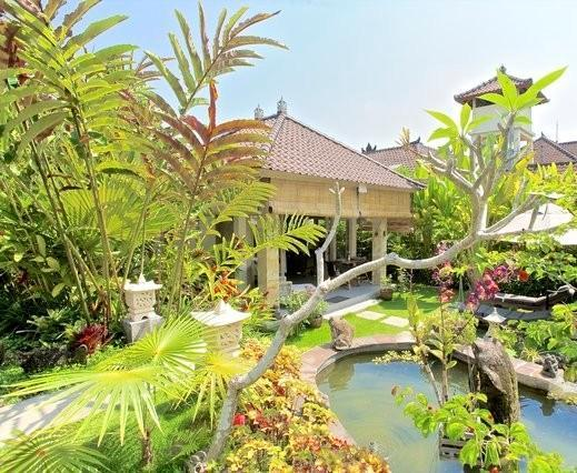View of the main house - Villa Semua Suka 3 Bedroom with Bungalow in the Ricefields of Ubud - United States - rentals