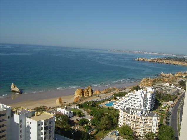 Awesome view of beach and coast! - Algarve Holiday Studio at Praia da Rocha, Algarve - Praia da Rocha - rentals