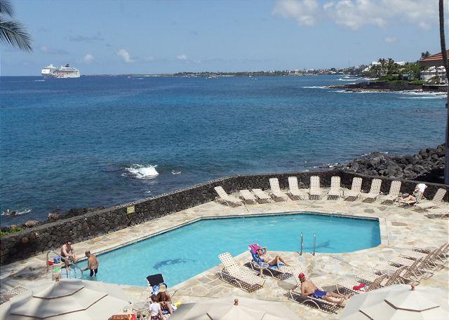 Sea Village - Fantastic Ocean View!-SV3210 - Image 1 - Kailua-Kona - rentals