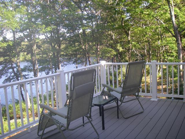 New Deck in 2009 - Cape Cod Summer Cottage - Brewster - rentals