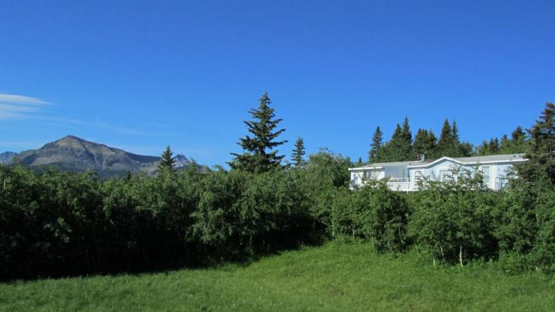 Home and yard - Foothills Ranch Retreat near Waterton Nat'l Park - Waterton Lakes National Park - rentals