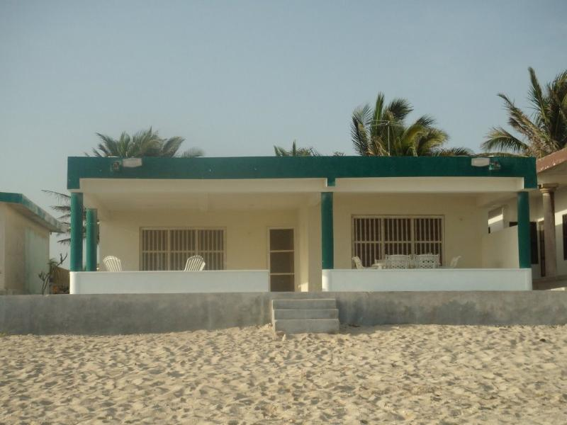 The view of the house from the ocean - Yucatan Beach Front - Beautiful & Fully Furnished - Yucatan - rentals