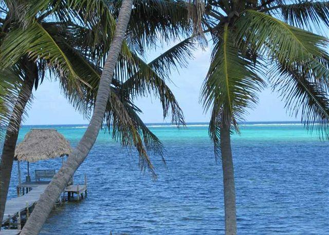 View from Balcony - Deluxe 2 Bedroom Ambergris Caye Belize Condominium - San Pedro - rentals