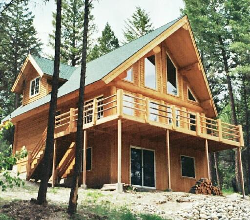 Front View - Whitetail Lodge - Eureka - rentals