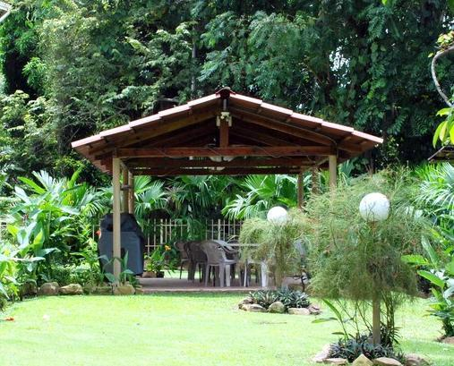 Backyard and Gazebo #2 - Studio sleeps 4, within a Beautiful National Park - Panama City - rentals