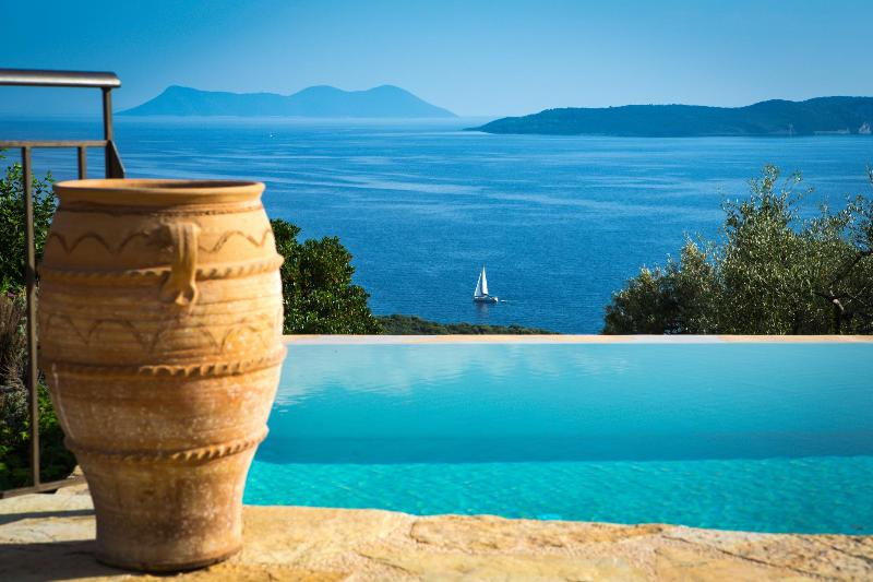 Luxury seafront villa w/ pool&jacuzzi - Image 1 - Sivota - rentals