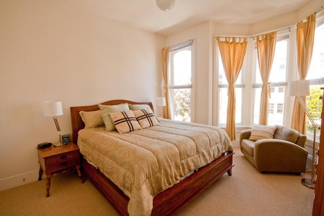 Master bedroom - Hayes Valley - Octavia Boulevard - San Francisco - rentals