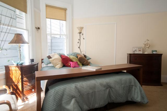Master bedroom - Victorian Alamo Square - San Francisco - rentals