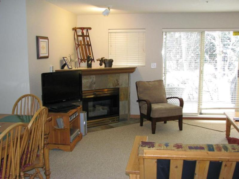 Spacious living area - LARGE One Bedroom in Village North - Whistler - rentals