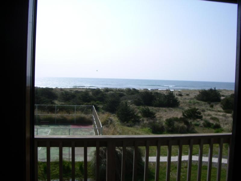 Grassey dunes and ocean - Ocean Front Condo - Awesome Views! - Gold Beach - rentals