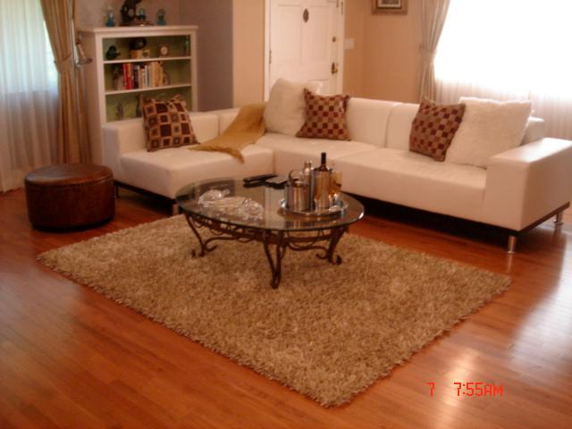 spacious living room w/ flat screen TV - Home in the Heart of Hollywood near Walk of Fame - Los Angeles - rentals