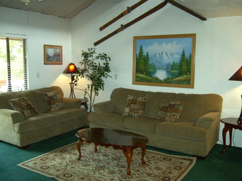 LIVINGROOM - Snow Summit Condo - Mountain Bike-in/out - Big Bear Lake - rentals