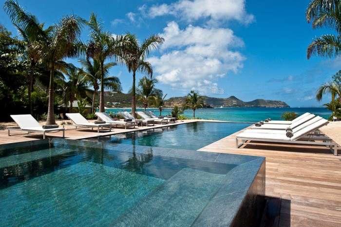 Luxury 5 bedroom Lorient villa. Beach access and snorkeling in front of villa! - Image 1 - Marigot - rentals
