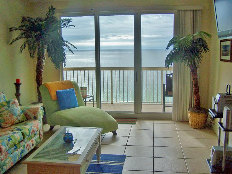 Waterfront 3 Bedroom Condo with Panoramic View from Balcony - Image 1 - Panama City Beach - rentals
