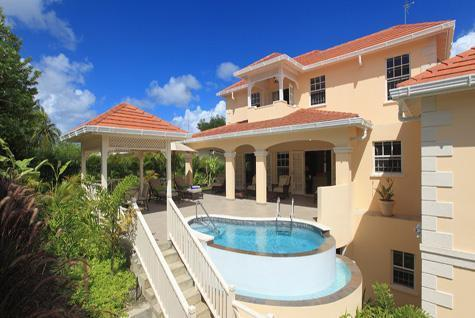 Tara from the back - FREE NIGHTS Luxury 4bdrm Holetown villa pool/staff - Holetown - rentals