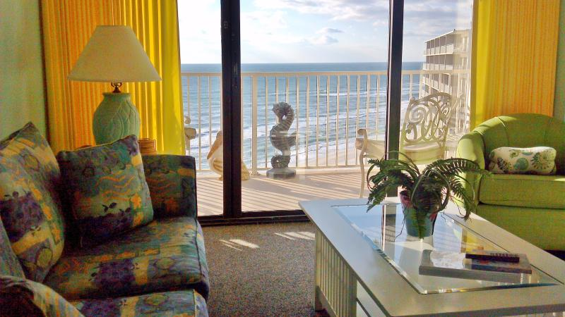 Beachfront Beauty, 2 Bedroom Suite on the Beach with Views - Image 1 - Panama City Beach - rentals