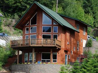 Welcome Home to Kidd Island Lodge on peaceful Kidd Island Bay! - Luxury Coeur d'Alene, ID Waterfront Home - Coeur d'Alene - rentals