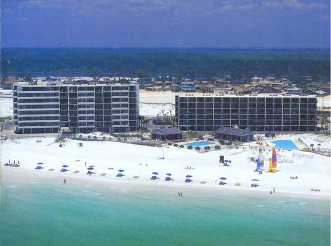 Beach Side 7205 Thomas Drive  The Dunes of Panama  A and B Buildings - Pet Friendly 119$ per Sept. night Beachfront View - Panama City Beach - rentals