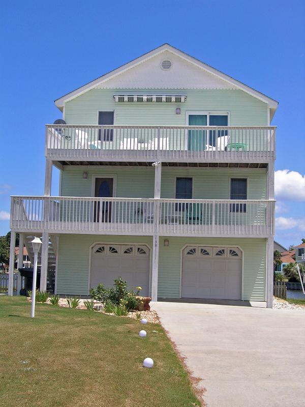 Front of House - 4 Bedroom / 3 Bath Home-Colington, Outer Banks, NC - Kill Devil Hills - rentals