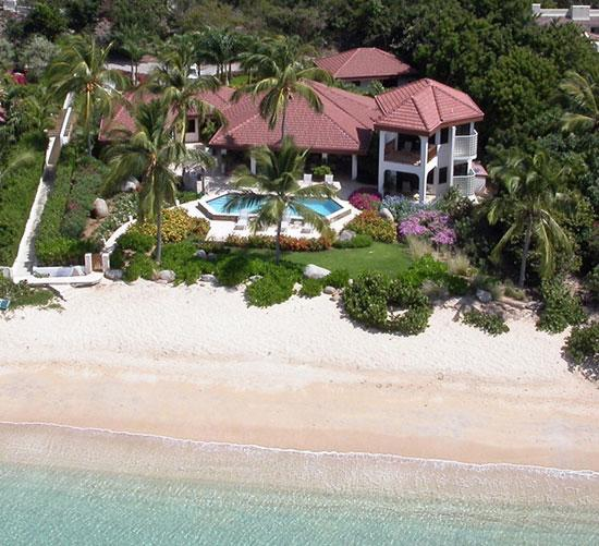 Caribbean Wind at Mahoe Bay, Virgin Gorda - Beachfront, Private Pool, Access to Tennis - Image 1 - Mahoe Bay - rentals