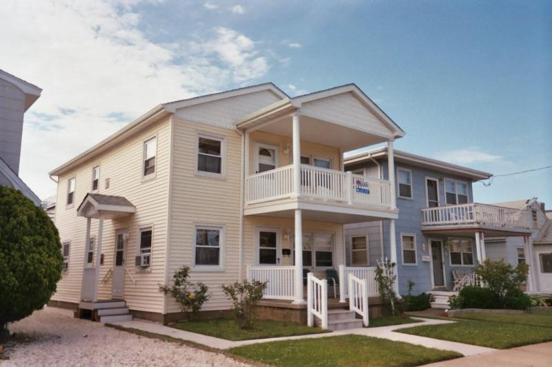 Front of House - Covered Deck - Great Location!  Best of Both Worlds! - Ocean City - rentals