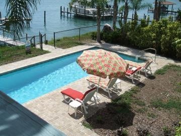 Private pool on water - Million Dollar Waterview 4 bed Pool Home  ICW Dock - New Smyrna Beach - rentals