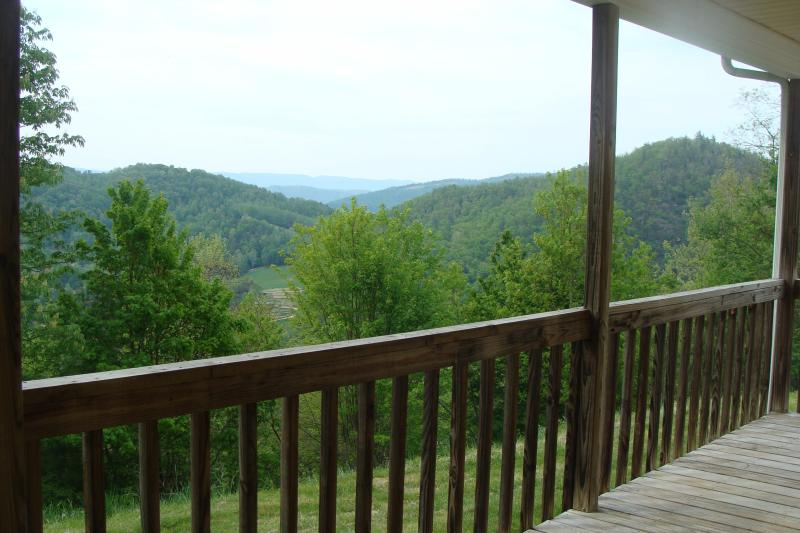 Your view off your deck on a hazy day. - Lake, River, pet, private/Click bookit tab 4 rates - Butler - rentals