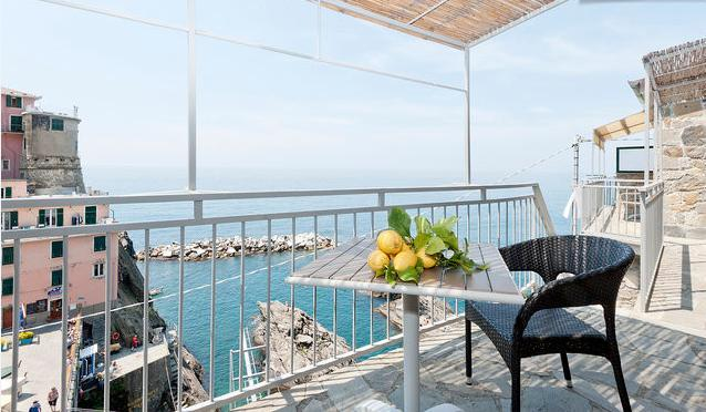 Camera singola Silvano - Manarolavistamare - Sea view rooms and apartments + stylish aptment        Air Conditioning and free Wi-Fi - Manarola - rentals