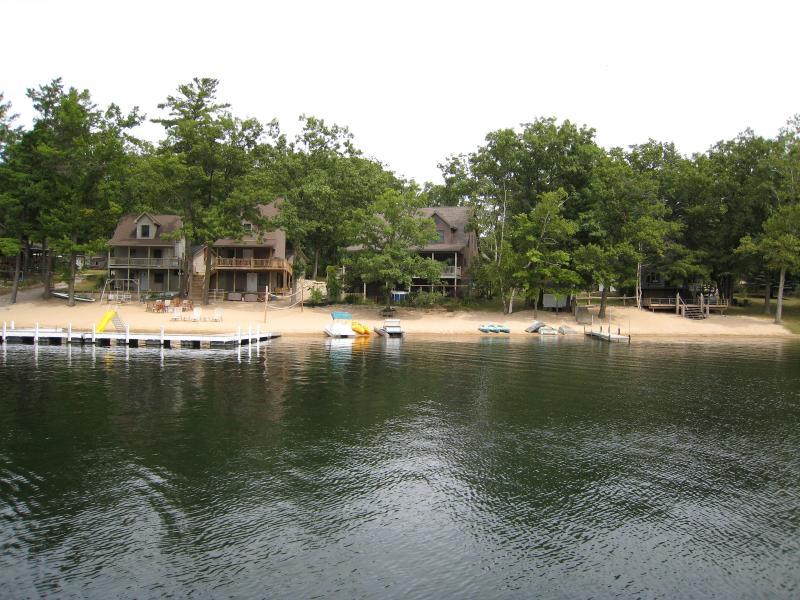 Snug Haven from Budd Lake - Beautiful vacation homes on Budd Lake, Harrison MI - Harrison - rentals