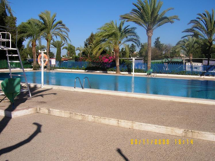 Outdoor  Pool on Site - 3 Bedroom Mobile w/Pools/Beach Site La Manga Spain - La Manga del Mar Menor - rentals
