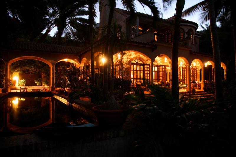 Beach House at Night…Cocktail anyone? - Peter Bay Beach House. Paradise on a Private Beach - Saint John - rentals