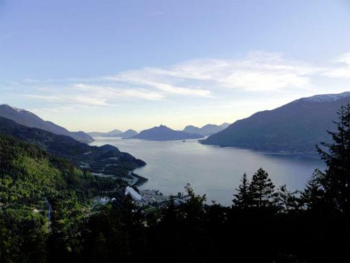 View of Howe Sound - Britannia Beach Vintage House - Britannia Beach - rentals