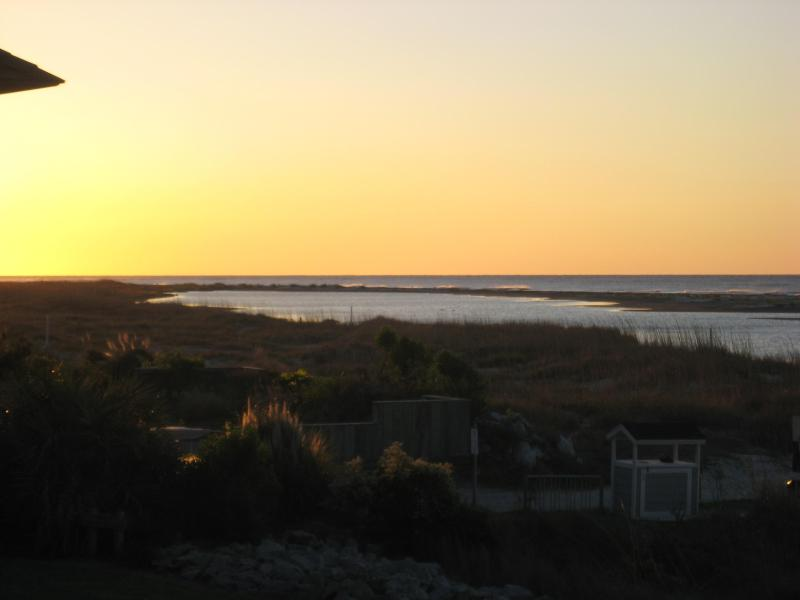 Sunrise from the balcony - Oceanfront-Free WiFi! Just a Few Summer Weeks Left - Fripp Island - rentals