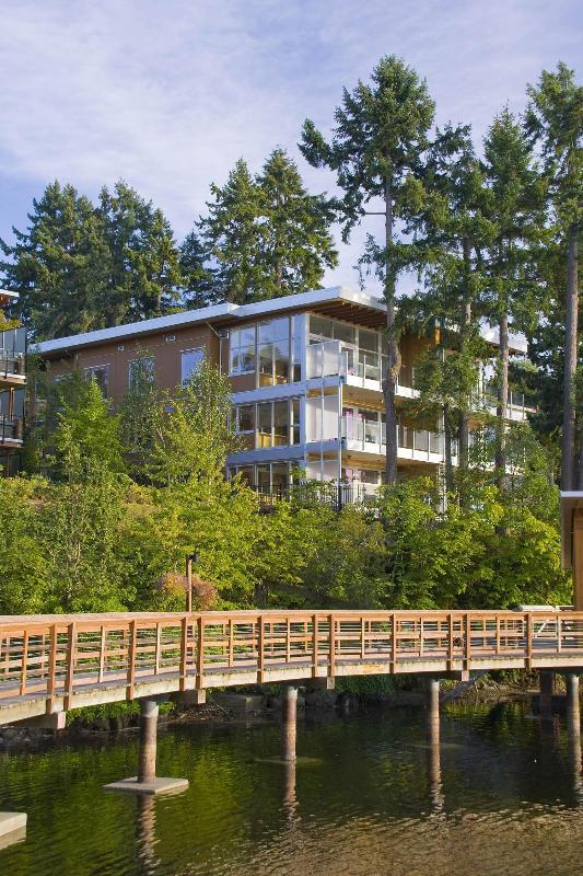Boardwalk to the OceanVillas - The OceanVilla at Brentwood Bay Resort & Spa - Victoria - rentals