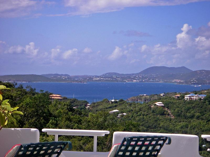 Ocean View of St. Thomas and Sunsets! - Best priced 2BR w/ Ocean View and Pool - Saint John - rentals