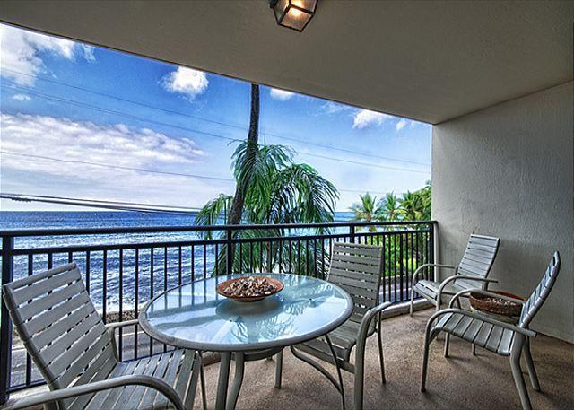 - Kona Alii #201 Oceanfront with AC - Kailua-Kona - rentals
