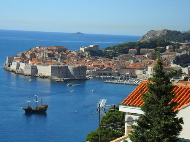 View From The Balcony - Lovely Views Apartment, 2 Balconies, Near Old Town - Dubrovnik - rentals