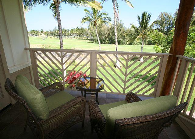 View from Master Bedroom - SPRING SPECIAL 7TH NIGHT FREE - 3BR Townhome with golf views! - Waikoloa - rentals