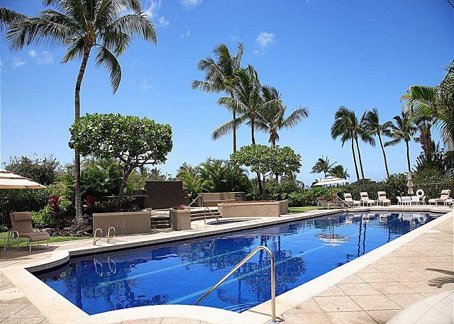 Saline lap pool - FALL SPECIAL 5TH NIGHT FREE - Deluxe 2 Bedroom, 2 Bath Condo - Waikoloa - rentals