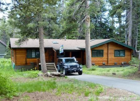 Front of Cabin - Bear Valley, 4BR Cedar Log Cabin - Bear Valley - rentals