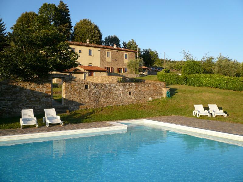 Villa for Three Families on a Wine Estate - Villa Olivo - Image 1 - Rufina - rentals