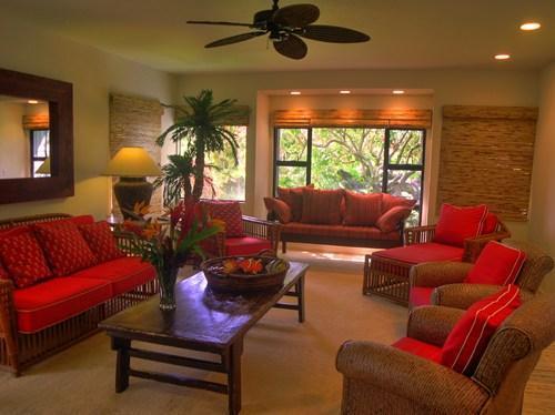 Main Living room - Hale Aloha ~ Huge Poipu Vacation Home Near Beach - Poipu - rentals
